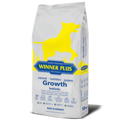 Winner Plus Super Premium Growth Holistic - Dry diet food for puppies, 18 kg