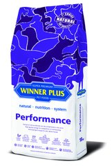 Winner Plus Super Premium Performance - Dry food for active dogs, 18 kg