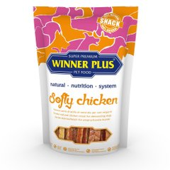 WINNER PLUS DogSnack Softy Chicken - Ласощі для собак з куркою, 100 г
