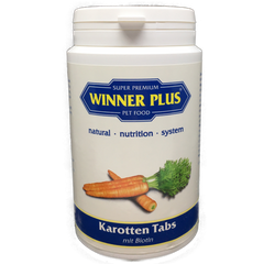 WINNER PLUS Carrot Tabs with Biotin, 200 g