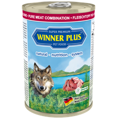 Winner Plus SUPER PREMIUM MENU PURE Meat combination, 400 g